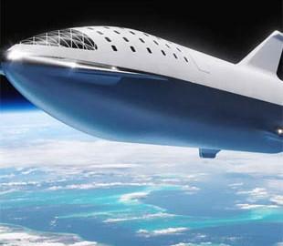Илон Маск показал новые снимки космического корабля Starship
