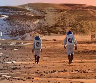 Маск рассказал, как будут жить первые колонисты на Марсе