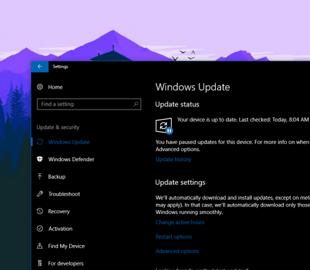 Исправляющее ошибки обновление Windows сломало систему