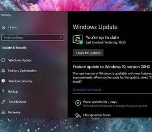 Microsoft опубликовала список известных проблем в Windows 10 October 2020 Update