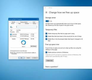 В Windows 10 (2004) можно будет отключать зарезервированное пространство на диске
