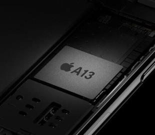 Процессор Apple A13 удивит своей производительностью