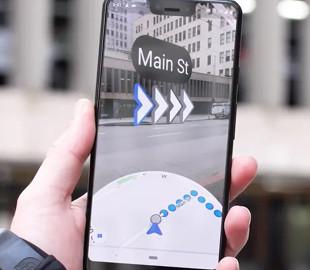 В Украине начали работать Google Карты с дополненной реальностью