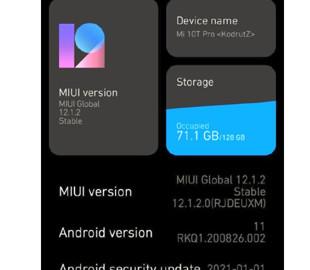 Обновление Android 11 принесло массу ошибок смартфонам Xiaomi Mi 10T и Mi 10T Pro
