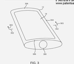 Apple запатентовала выпуклый iPhone