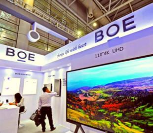Китайский производитель LCD-панелей впервые в начале года обогнал LG Display