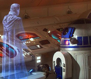 Инженеры создали 3D-дисплей из «Звёздных войн»