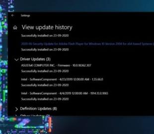Microsoft начала распространение устаревших драйверов в виде необязательных обновлений для Windows 10